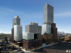 Arena block rendering, tour of Atlantic Yards/Pacific Park/Barclays Center